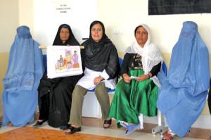 Afganistanin mielenterveysprojekti.