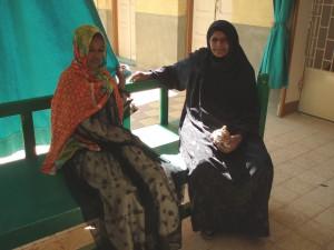 Klinikka- ja terveyskasvatustyö klinikalla Egyptissä